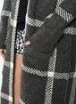 Koton Kareli Uzun Triko Hırka Siyah